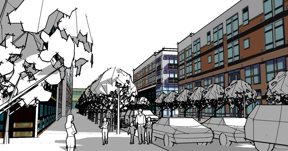 A New Town Center For Evansville In