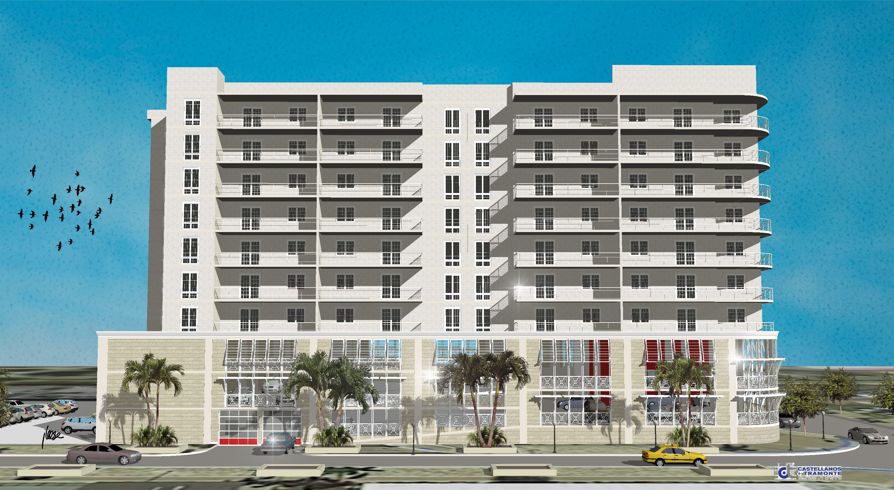 A Proposed Apartment Building In Cape Coral Fl